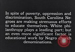 Image of segregated residential schools South Carolina United States USA, 1936, second 11 stock footage video 65675035955