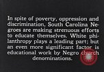 Image of segregated residential schools South Carolina United States USA, 1936, second 12 stock footage video 65675035955