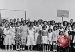 Image of pupils of segregated negro school South Carolina United States USA, 1936, second 7 stock footage video 65675035960