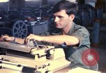 Image of currency exchange by US Army soldiers Long Binh Vietnam, 1969, second 1 stock footage video 65675035969