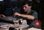 Image of currency exchange by US Army soldiers Long Binh Vietnam, 1969, second 2 stock footage video 65675035969