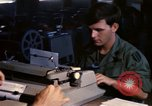 Image of currency exchange by US Army soldiers Long Binh Vietnam, 1969, second 4 stock footage video 65675035969