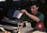 Image of currency exchange by US Army soldiers Long Binh Vietnam, 1969, second 8 stock footage video 65675035969
