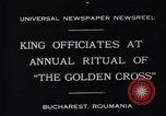 Image of King Carol II Bucharest Romania, 1931, second 3 stock footage video 65675035998