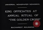Image of King Carol II Bucharest Romania, 1931, second 6 stock footage video 65675035998