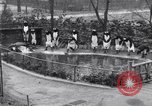 Image of mascots of penguins Philadelphia Pennsylvania USA, 1931, second 8 stock footage video 65675035999