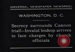 Image of James Cannon Trial Washington DC USA, 1931, second 4 stock footage video 65675036001