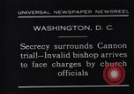 Image of James Cannon Trial Washington DC USA, 1931, second 5 stock footage video 65675036001