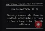 Image of James Cannon Trial Washington DC USA, 1931, second 6 stock footage video 65675036001