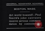 Image of Paul Smith paintings Boston Massachusetts USA, 1931, second 2 stock footage video 65675036002