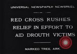 Image of drought victims Marked Tree Arkansas USA, 1931, second 2 stock footage video 65675036005