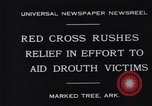 Image of drought victims Marked Tree Arkansas USA, 1931, second 4 stock footage video 65675036005