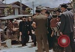 Image of black marketing by Americans Kyoto Japan, 1946, second 5 stock footage video 65675036007