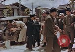 Image of black marketing by Americans Kyoto Japan, 1946, second 10 stock footage video 65675036007