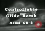 Image of Glide Bomb GB-8 United States USA, 1940, second 7 stock footage video 65675036015