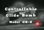 Image of Glide Bomb GB-8 United States USA, 1940, second 8 stock footage video 65675036015