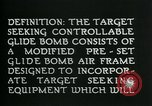 Image of Target Seeking Controllable Glide Bomb United States USA, 1944, second 8 stock footage video 65675036030