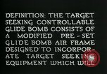 Image of Target Seeking Controllable Glide Bomb United States USA, 1944, second 9 stock footage video 65675036030