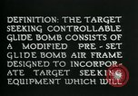 Image of Target Seeking Controllable Glide Bomb United States USA, 1944, second 10 stock footage video 65675036030