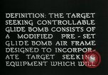 Image of Target Seeking Controllable Glide Bomb United States USA, 1944, second 12 stock footage video 65675036030