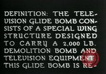 Image of Remote Controlled TV Glide Bomb United States, 1944, second 7 stock footage video 65675036031