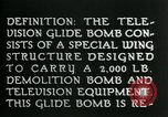 Image of Remote Controlled TV Glide Bomb United States, 1944, second 11 stock footage video 65675036031