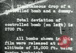 Image of tail section of a glide bomb United States USA, 1944, second 1 stock footage video 65675036033