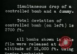 Image of tail section of a glide bomb United States USA, 1944, second 3 stock footage video 65675036033
