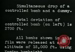 Image of tail section of a glide bomb United States USA, 1944, second 4 stock footage video 65675036033
