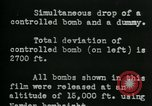 Image of tail section of a glide bomb United States USA, 1944, second 5 stock footage video 65675036033