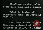 Image of tail section of a glide bomb United States USA, 1944, second 6 stock footage video 65675036033