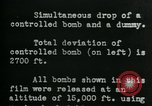 Image of tail section of a glide bomb United States USA, 1944, second 8 stock footage video 65675036033