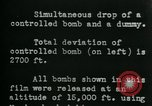 Image of tail section of a glide bomb United States USA, 1944, second 9 stock footage video 65675036033