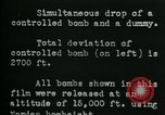 Image of tail section of a glide bomb United States USA, 1944, second 10 stock footage video 65675036033