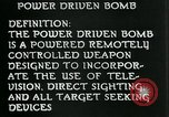 Image of Power Bomb United States USA, 1944, second 3 stock footage video 65675036035