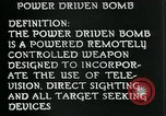 Image of Power Bomb United States USA, 1944, second 6 stock footage video 65675036035