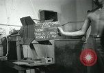 Image of Azon Bomb tail section Burma, 1945, second 3 stock footage video 65675036052