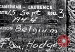 Image of Lieutenant General Courtney Hodges Belgium, 1944, second 3 stock footage video 65675036060