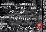 Image of Lieutenant General Courtney Hodges Belgium, 1944, second 4 stock footage video 65675036060
