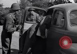 Image of Lieutenant General Courtney Hodges Belgium, 1944, second 10 stock footage video 65675036060