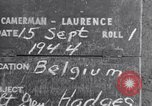 Image of Lieutenant General Courtney Hodges Belgium, 1944, second 2 stock footage video 65675036061