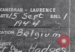 Image of Lieutenant General Courtney Hodges Belgium, 1944, second 3 stock footage video 65675036061