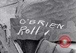 Image of concentration camp prisoners Ebensee Austria, 1945, second 7 stock footage video 65675036065