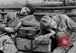 Image of concentration camp prisoners Ebensee Austria, 1945, second 10 stock footage video 65675036065