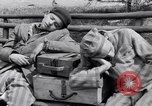 Image of concentration camp prisoners Ebensee Austria, 1945, second 11 stock footage video 65675036065