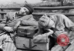 Image of concentration camp prisoners Ebensee Austria, 1945, second 12 stock footage video 65675036065