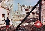 Image of damaged buildings in Leipzig Leipzig Germany, 1945, second 1 stock footage video 65675036086