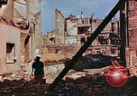 Image of damaged buildings in Leipzig Leipzig Germany, 1945, second 3 stock footage video 65675036086