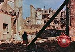 Image of damaged buildings in Leipzig Leipzig Germany, 1945, second 4 stock footage video 65675036086