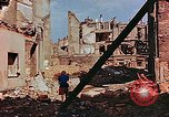 Image of damaged buildings in Leipzig Leipzig Germany, 1945, second 5 stock footage video 65675036086